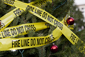 Lagrangeville Christmas Tree sets fire from defective product