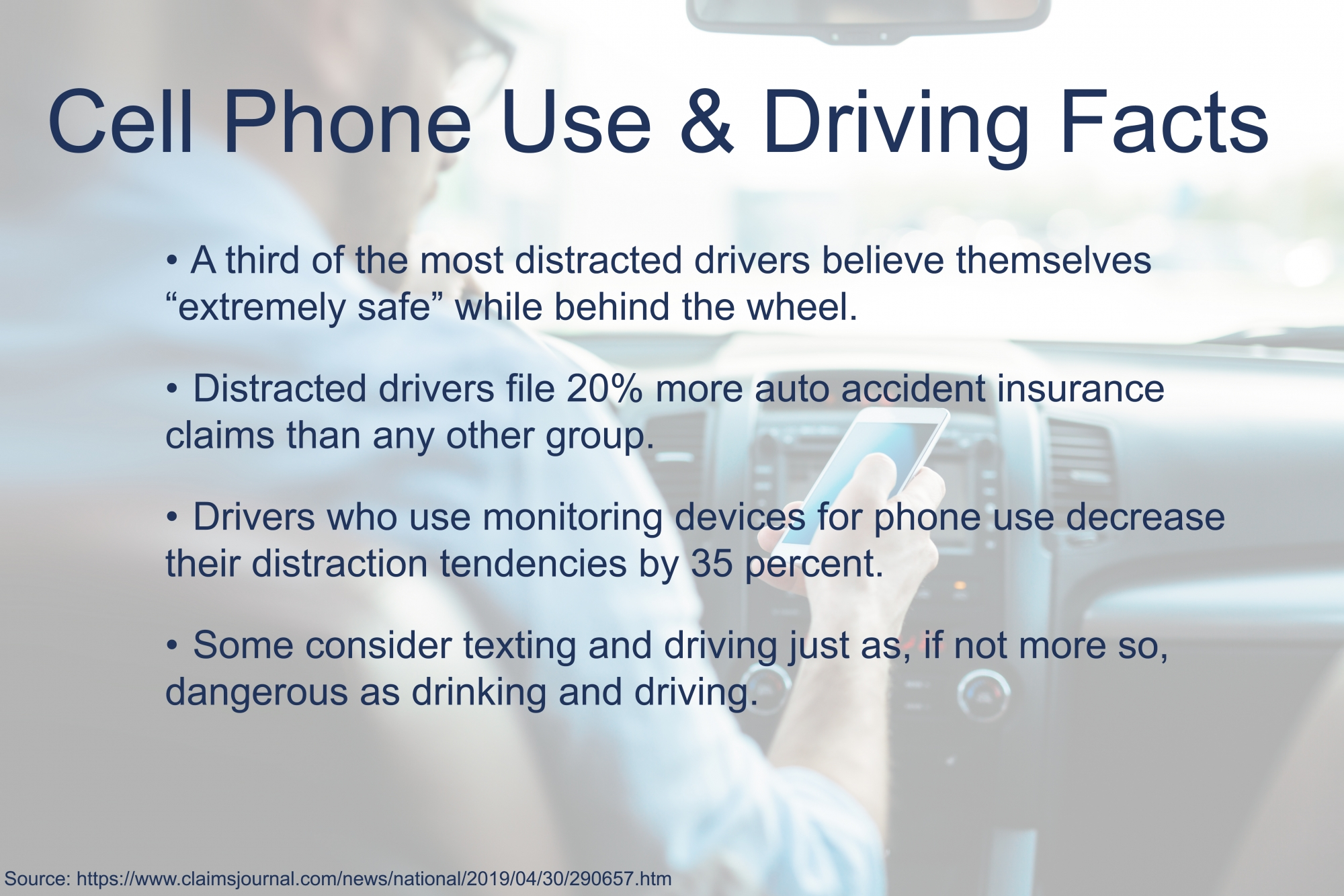 Distracted driving facts about auto accidents in Fishkill