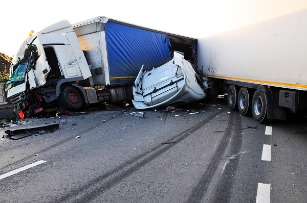 semi-truck commercial truck accident personal injury lawyer new york