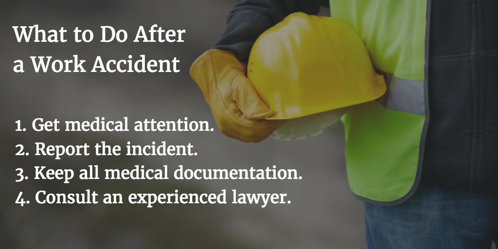 What to Do After a Work Injury | Maurer Law Firm - Fishkill